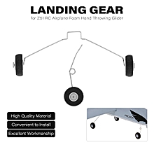 Landing Gear w/Wheels for Z51 RC Airplane Foam Hand Throwing Glider Drone DIY