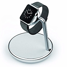 Apple watch charging dock - Silver