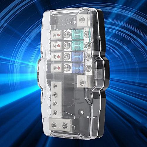 generic car audio stereo anl blade fuse holder distribution blocks 0/4ga 4  way fuses box block 30a 60a