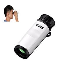 BIJIA 10X Waterproof Monoculars 10x32 High Definition Telescope Travel Camping Hiking Scope