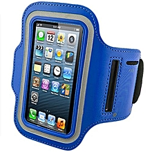 Bluelans Sports Adjustable Armband Gym Equipment Case Cover For IPhone 6/6S Royal Blue