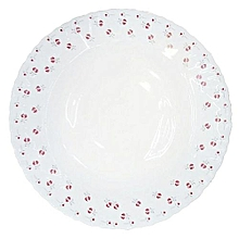 "Redberry Microwave Safe Dinner Plates 10""- Set of 6 ."