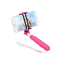 BR04 - Selfie Stick Monopod Bluetooth Self Timer - Pink