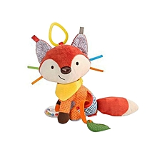 Baby Infant Plush Animal Stroller Hanging Toy Doll - Fox