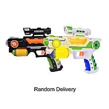 HP Children Role Play Games Electric Toy Gun Luminous Flash Light Music Gun Gift Multicolor