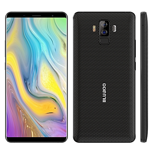 BLUBOO S3, 4GB+64GB, Dual Back Cameras, Face & Fingerprint Identification, 8500mAh Battery, 6.0 inch Android 7.0 MTK6750T Octa Core up to 1.5GHz, Network: 4G, VoLTE, NFC, WiFi, GPS, OTG, Bluetooth, Dual SIM(Black)