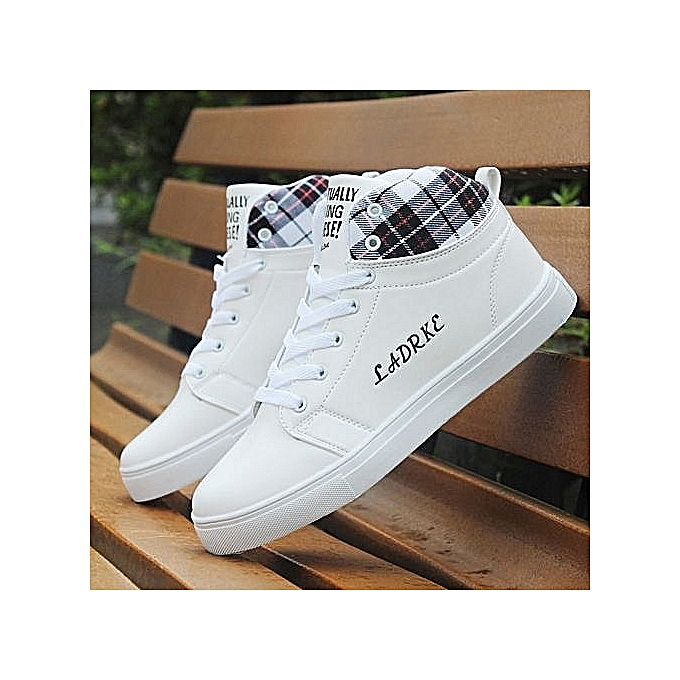 466d23bb35a ... Man New High Top Canvas Casual Shoes Men-White · New Beauty Fashion Hot Men  Shoes Fashion Warm Fur Winter Men Boots Autumn Leather Footwear For