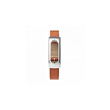 Smart WatchRiginal  Leather Bracelet Wrist Strap  - Brown