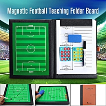 New A4 Precision Magnetic Football Coaches Tactic Folder Professional Teaching Board-