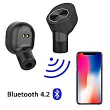TWS GW10 Wireless Bluetooth Stereo Mini Headphones In-Ear Earphones Earbuds Headset JY-M