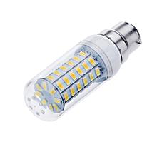 B22 12W 56 LEDS 5730 Chip SMD Corn Light Bulb Lamp 220-240V Warm White