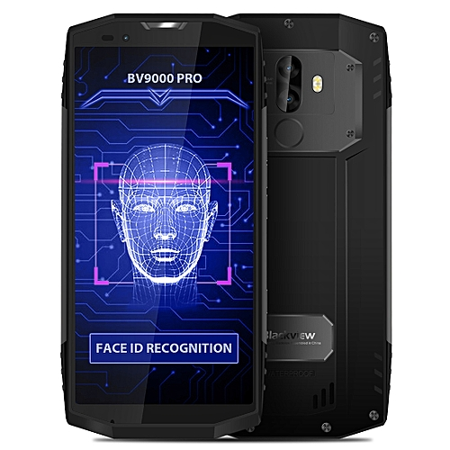 BV9000 Pro, 6GB+128GB, IP68 Waterproof Dustproof Shockproof, Dual Back Camera, Face & Fingerprint Identification, 5.7 inch Android 7.1 MTK6757CD (Helio P25) Octa Core up to 2.6GHz, NFC, OTG, Network: 4G(Grey)