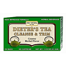DIETER'S TEA CLEANSE & TRIM- Country Herbal Flavor