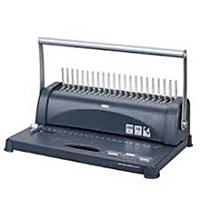 Comb Spiral Binder Machine - Black & Grey