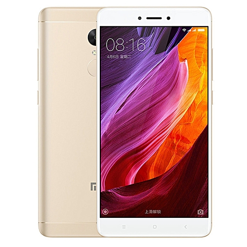 Redmi Note 4X, 3GB+32GB Official Global ROM IR Remote Control 5.5 Inch MIUI 8.0 Qualcomm Snapdragon 625 Octa Core Up To 2.0GHz 4G Smartphone(Gold)
