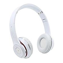 Headphone HandsFree Fashion Bluetooth Headset Bluetooth Sports Wireless Headphones S460 - White