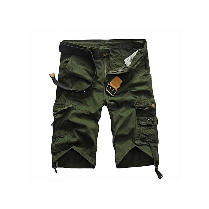e3e37cb597 Shorts Men Summer Cargo Shorts Men Short Pants Casual Baggy Shorts Military  Trousers Bermuda Cargo Overalls