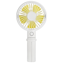 Benks Mini USB Rechargeable Handheld Desktop 3 Adjustable Speed Cooling Fan with Cell Phone Holder