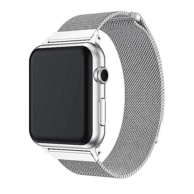 245cc515d03 OEM Milanese Loop Replacement Band Compatible Apple Watch 38mm 42mm ...