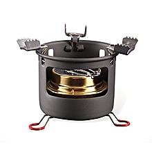 ALOCS CS-B13 Camping Picnic Alcohol Cooking Stove Set Portable Liquid Fuel Furnace Burner Cooker