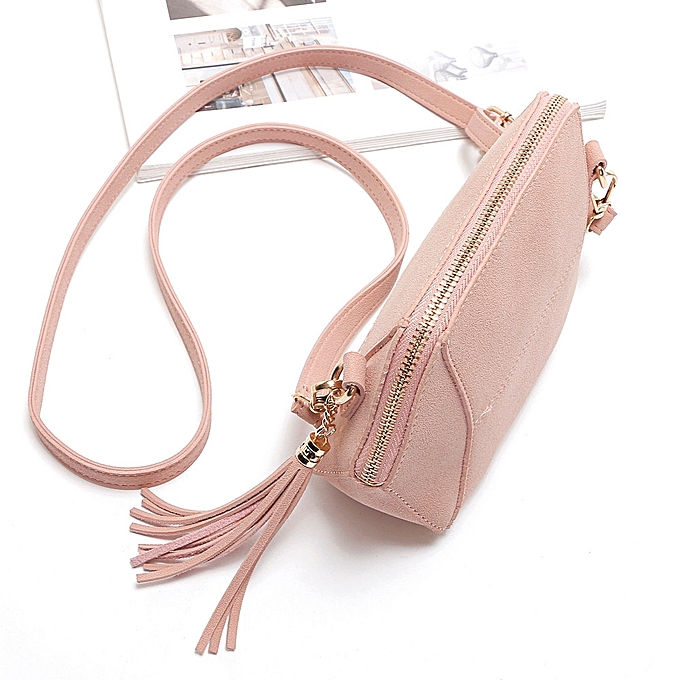 54659b08d8 Hiamok Womens Leather Shoulder Bag Satchel Handbag Tote Hobo Crossbody Bags  Pink