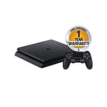 PlayStation 4 Slim Console - 500GB - Black