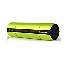 KR-8800 - Rechargeable Bluetooth V3.0 NFC Speaker Multifunctional Portable - Green
