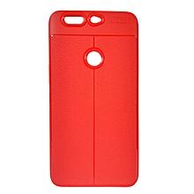 INFINIX Zero 5 (X603) Back Cover - Rubber Finish Red