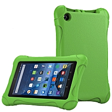 Kids Shock Proof Case For Amazon Kindle Fire HD 7 2018-Green