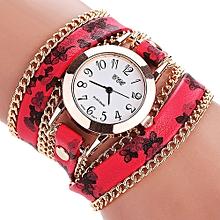 guoaivo  CCQ Women Fashion Casual Analog Quartz Women  Watch Bracelet Watch  -As show