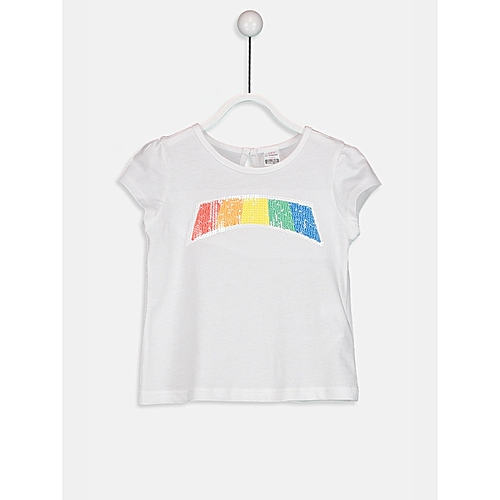 White Fashionable Standard T-Shirt