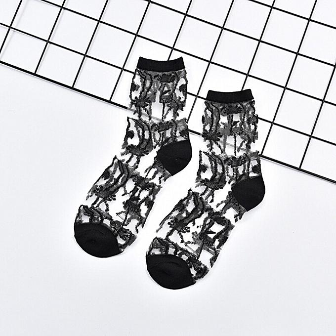 Fashion Fohting Women Fashion Mesh Glass Silk Socks Ultrathin