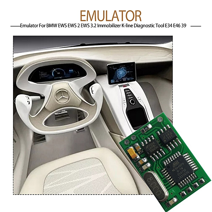 Emulator For BMW EWS 2 3 2 Immobilizer K-line Diagnostic Tool E34 E46 39