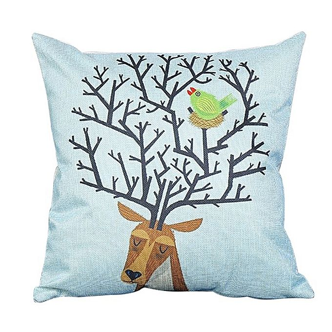 Throw Pillow Jumia : 45cm*45cm Cartoon Pillow Cotton Linen Houseware Square Throw Pillow Cushion - Jumia Kenya