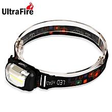 UltraFire 3 Files COB Headlight BLACK