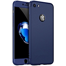 Ultra-thin 3 in 1 Double Dip 360° Full Protection Shockproof Ultra-thin Lightweight Shockproof Anti-Scratches Hard PC Show Logo Cover Case for Apple iPhone 6 / 6s XBQ-A