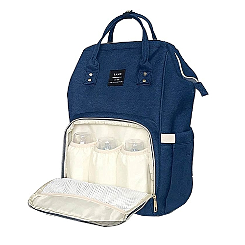 Diaper Bag Backpack, Multifunction Travel Back Pack Maternity Baby Nappy  Changing Bags, Large Capacity, Waterproof and Stylish, Blue + Free 4 piece