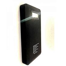 Z24 Solar Power Bank - 12000mAh - Black