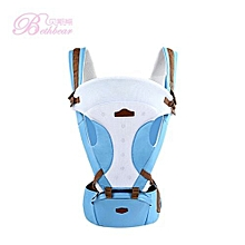 Unisex Breathable Waist Stool Backpack - Blue