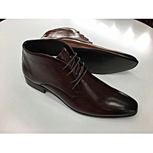 Coffee Brown Urban Look Men's Official And Casual Boots