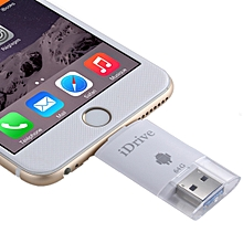 64GB 2 in 1 Micro USB 2.0 and 8 Pin USB iDrive iReader Flash Memory Stick for iPhone 6 and 6s, iPhone 6 Plus and 6s Plus, Samsung Galaxy S6 / S5