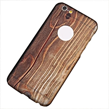 Shield Case Cover Back 360 All Inclusive Wood Grain Case Cover For iPhone 6sPlus-AS Shown