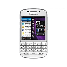 "Q10 3.1"" 2GB+16GB Dual Core 8MP Bluetooth WIFI 2100mAh BlackBerry Smartphone - White"