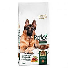 Premium Adult Dog Food Lamb, Rice & Vegetable - 15kg