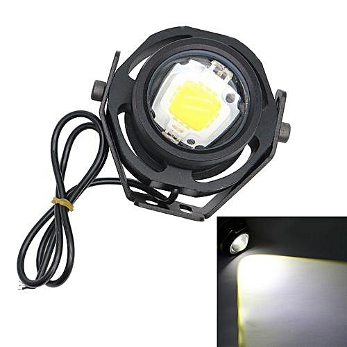 1 Pair 1000LM 10W Eagle Eye Light DRL Car LED Fog Lights Daytime Running  Light