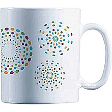 Essence Rainbow Flakes Tea Coffee Mug Cup, 32cl
