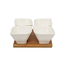 4 pcs Dipping Bowl - White