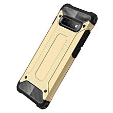 Galaxy S10+ Case,2 IN 1 Hybrid [Full Body] [Heavy Duty] Armor Case Dual Layer Shock Absorbing TPU for Samsung Galaxy S10+/Galaxy S10 Plus -Gold