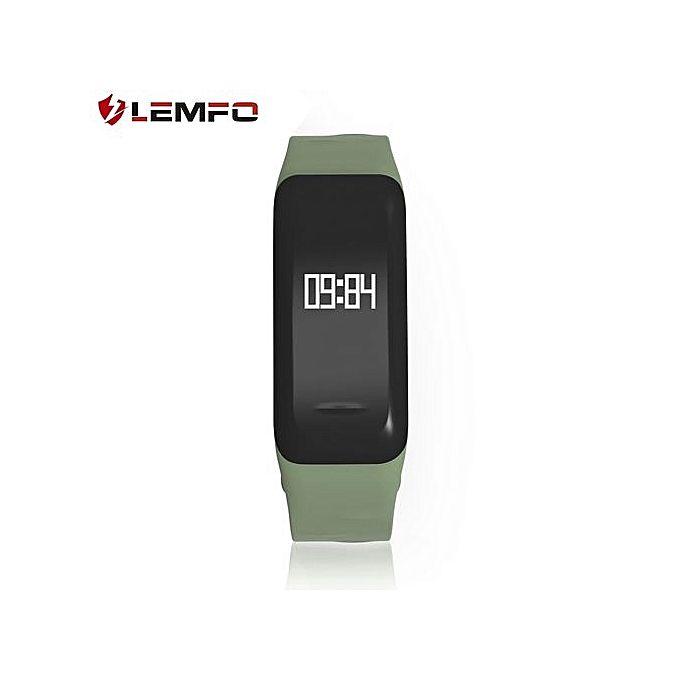 Lemfo LEMFO C1 Pedometer Heart Rate Monitor Call Reminder ...