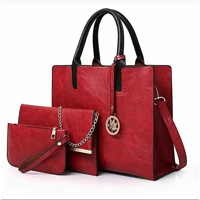 809af8ee499b Generic 3 in 1 Classy and Elegant handbag   Best Price